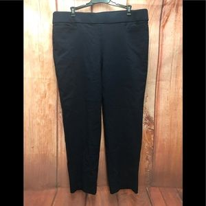Alfred dunner size 16 navy pants